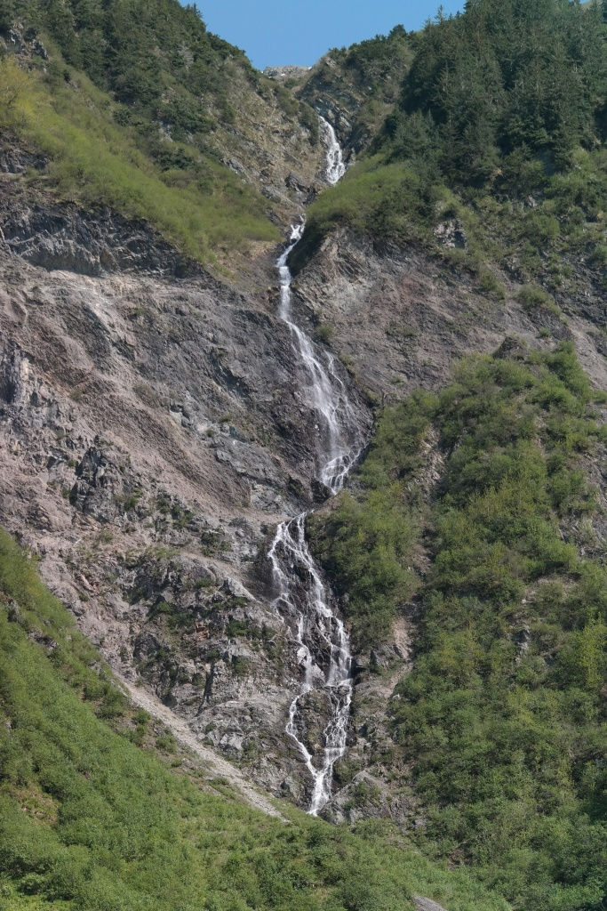 Mt Juneau falls
