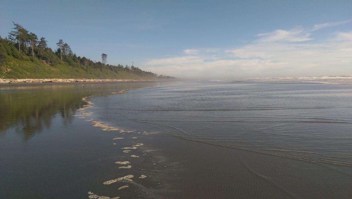 Far end of Kalaloch Beach